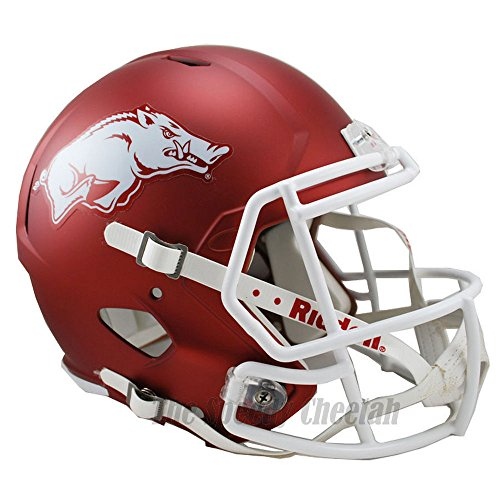 Arkansas Razorbacks Officially Licensed NCAA Speed Full Size Replica Football Helmet by Riddell