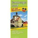 Bamberger Land: Rad- und Wanderkarte mit Ausflugszielen, Einkehr- & Freizeittipps, wetterfest, reißfest, abwischbar, GPS-genau. 1:50000 (Rad- und Wanderkarte / RuWK)