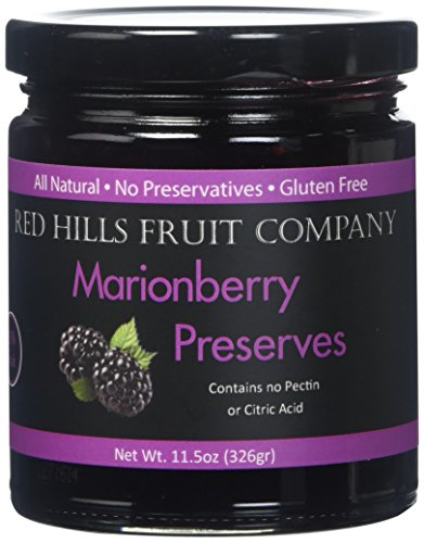 - Red Hills Fruit Company Preserves, Marionberry, 4 Count