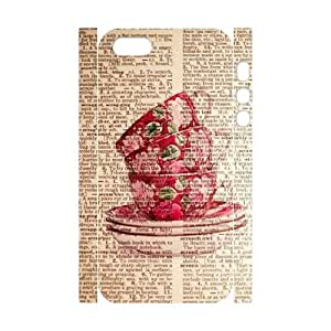 HEHEDE Phone Case Of News Paper Background Painting Pattern For iPhone 5,5S