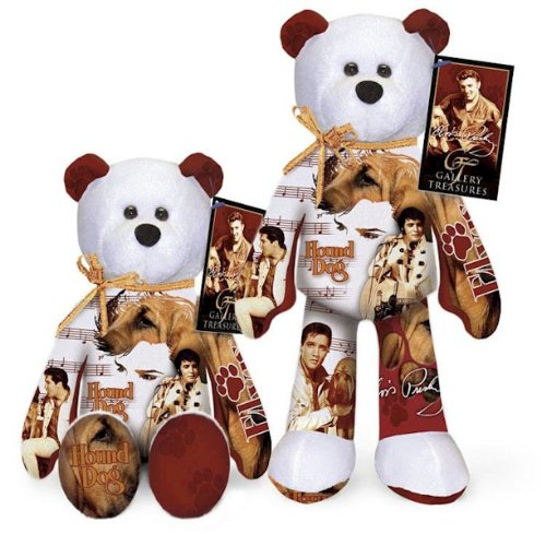 - Elvis Presley Hound Dog Bear # 012