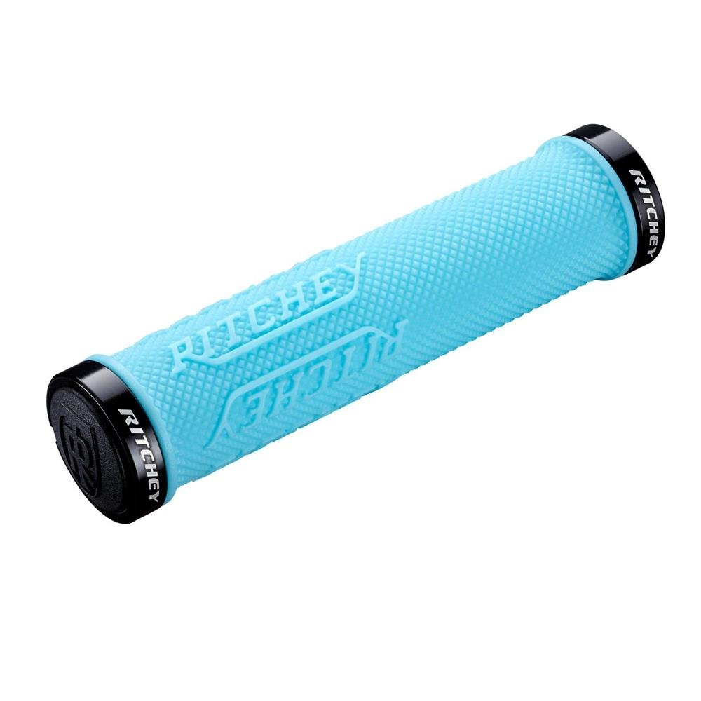 Ritchey WCS Truegrip X Locking Mountain Bicycle Handle Bar Grips 38450847003/_Sky Blue/_130 mm