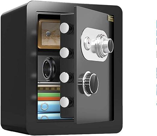 Y-BXX Caja Fuerte con codigo, All Steel 45cm Antirrobo Invisible Mesita de Noche Contraseña mecánica Caja Fuerte contra Incendios con gabinete Interno Caja Fuerte: Amazon.es: Hogar