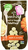 Beech-Nut Apple & Pumpkin Fruit and Veggie Melties, 1.0 Ounce (Pack of 7)