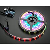 Adafruit NeoPixel Digital RGB LED Strip - White 30 LED [ADA1376]