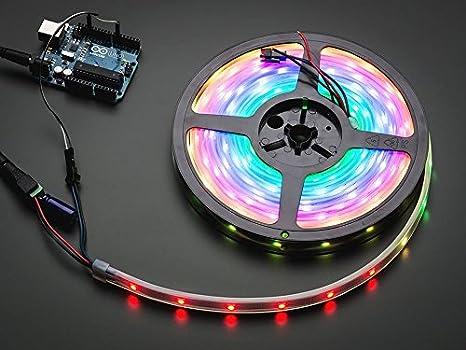 Adafruit NeoPixel Digital RGB LED Strip - White 30 LED - 1m