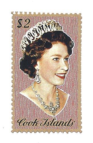 Cook Islands $2. Postage Stamp Single 1973 Queen Elizabeth II Scott # (Cook Islands Stamps)