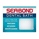 SEA-BOND Denture Bath 1 Each (Colors May Vary) (Pack of 6)