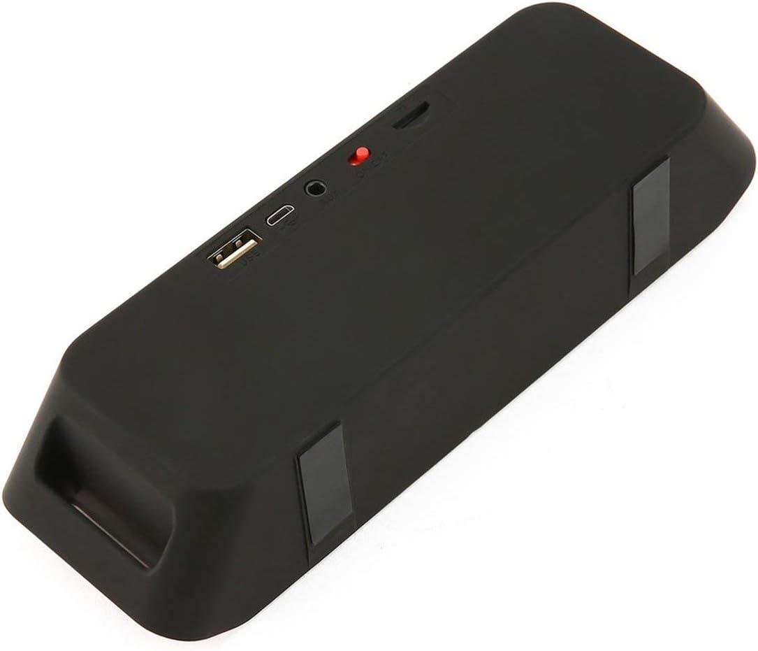 S208 Bluetooth Speaker Wireless Recharegable Stereo Loudspeakers USB Charging Mini FM Radio Multifunctional Sound Boombox YAHALOU