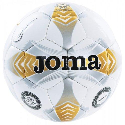 JOMA Egeo Sala 64 - Balón de fútbol, Color Blanco y Dorado