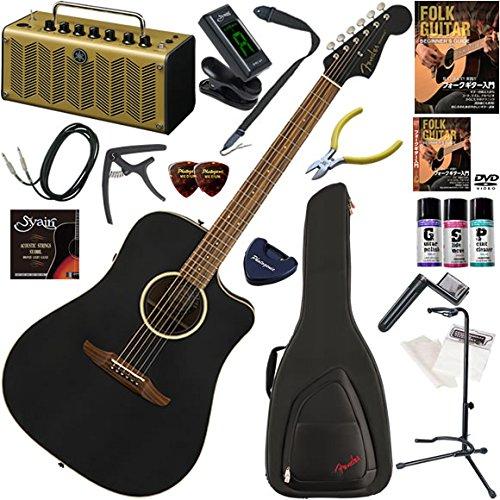 50%OFF FENDER アコースティックギター FENDER 初心者 入門 Special ストラトヘッド、ドレッドタイプボディのエレアコ B07BP2DT3V オール単板仕様 レトロなデザインで多機能高音質のYAMAHA THR5Aが入ってる大人の19点セット Redondo Special B07BP2DT3V, ミナミカワチマチ:2056dc5e --- catconnects-ie.access.secure-ssl-servers.org