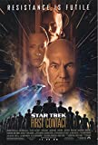 """Star Trek: First Contact 1996 Authentic 27"""" x 41"""" Original Movie Poster Rolled Fine Patrick Stewart Thriller U.S. One Sheet Advance"""