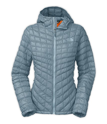 North Face ThermoBall Hoodie - Women's Cool Blue X-Small