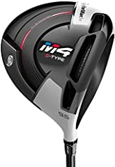 TaylorMade M4 D-Type Driver STRAIGHT DISTANCE + EXTREME FORGIVENESS IN A DRAW-BIASED DESIGN TWIST FACE A radical departure from traditional driver-face design, Twist Face is engineered to take you farther and straighter… right down the cente...