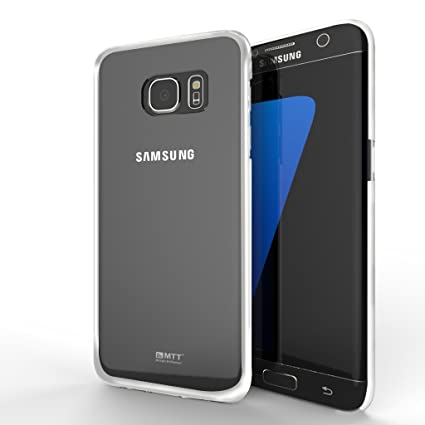 MTT Slim Fit Back Cover Case for Samsung Galaxy S6 Edge Plus  ELCTRO Silver