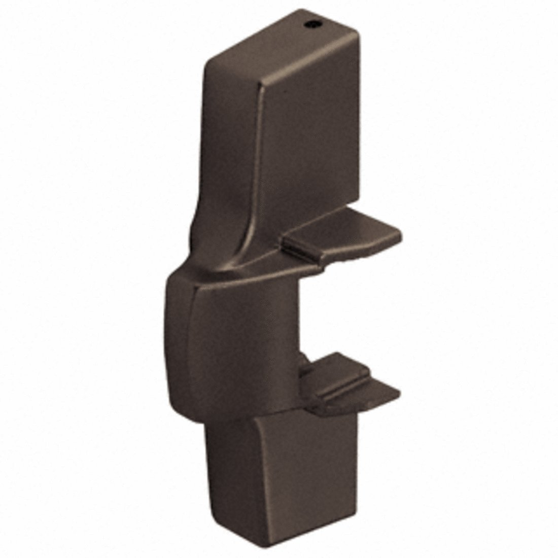 Dark Bronze Active Head Cover Package for Jackson 2095 Rim Panic Exit Device
