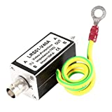 uxcell CCTV Camera BNC Video Surge Lightning Arrester Protector Protection