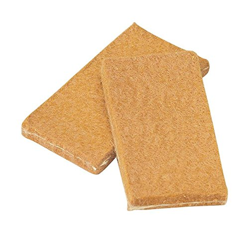 Walter 54B026 High Conductivity Standard Cleaning Pads - (Pack of 10) 1-51/64 in. X 29/32 in. Foldable, Double Sided Scouring Pads. Welding Pads by Walter Surface Technologies