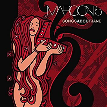 Maroon 5 Songs About Janelimited Edition With Red Black Colored