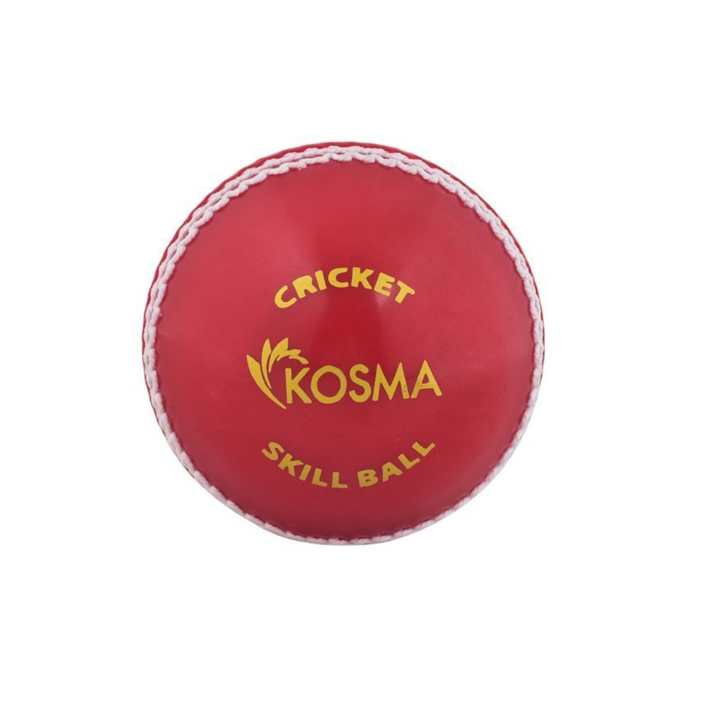 Kosma Cricket Ball Poly Soft Soft cricket Skill Ball Red//White Coaching Training Ball