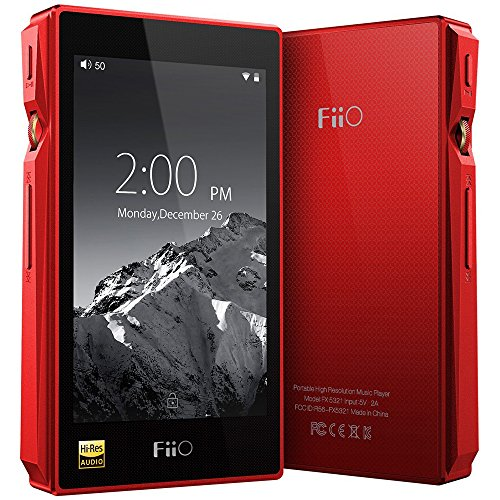 FiiO X5 3rd Generation High-Res Lossless Smart Digital Audio Player with Bluetooth (Red)