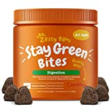 Grass Burn Spot Chews for Dogs - for Lawn Spots Caused by Dog Urine - Cran-Max Cranberry for Urinary Tract, Kidney & Bladder - Apple Cider Vinegar + Digestive Enzymes & DL-Methionine - 90 Chew Treats
