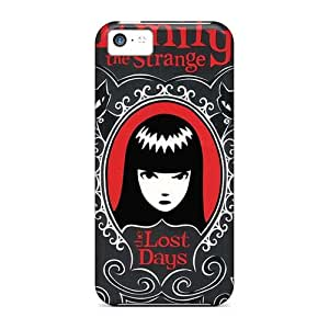 Scratch Protection Hard Cell-phone Cases For Iphone 5c (iQT18200xadV) Unique Design HD Strange Magic Series