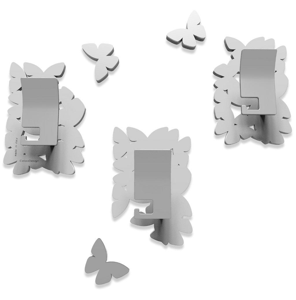 Appendiabiti Isola delle farfalle Bianco Colore CalleaDesign