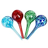 4 Pcs Self Watering Globes, Automatic Watering Bulbs Set for Potted Plant Flowers