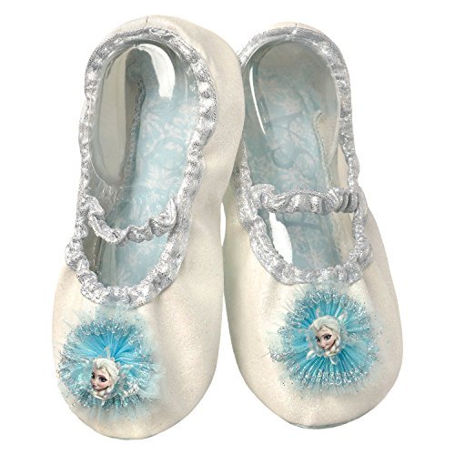 Disney Frozen Elsa Slipper Shoes (Elsa Cream Sparkle) ()