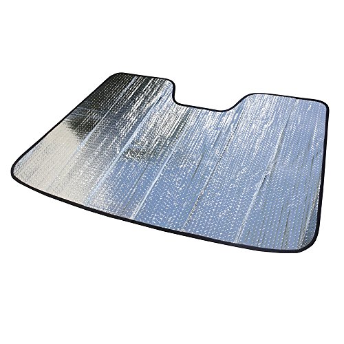 AutoTech Zone Sun Shade for 2017-2018 Honda Civic Hatchback, Custom-fit Windshield Sun Shade