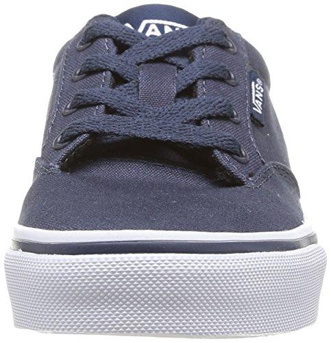 mode Baskets mixte enfant White Bleu Navy Vans Winston t5qIE