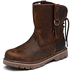 Z.SUO Men's Leather Harness Boot