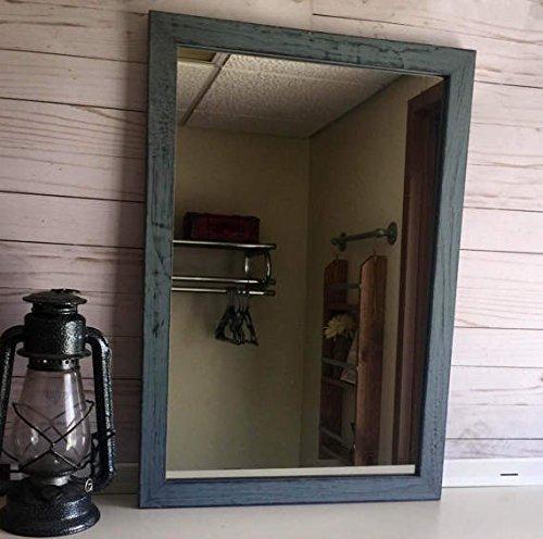 Large Rustic Mirror-Wooden Mirror-Rustic wall mirror-farmhouse mirror-barn mirror-shabby chic mirror-wooden rustic mirror-wooden mirror