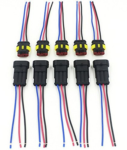 515j5RMTM3L amazon com cnkf 10 sets 3 pin amp superseal car waterproof