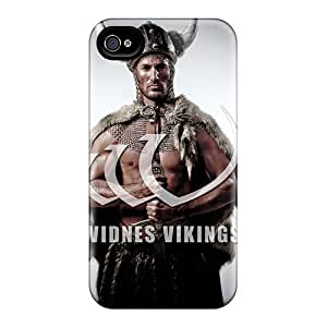 High Quality CaroleSignorile Widnes Vikings Skin Cases Covers Specially Designed For Iphone - 6