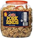 Utz Pork Rinds, 18 oz Barrel