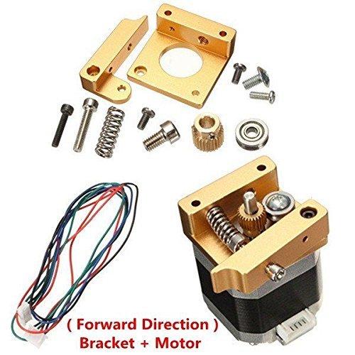 0323 MK8 Aluminum Extruder Kit With NEMA 17 Stepper Motor 1.75MM For 3D Printer from Aigh Auality shop
