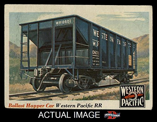 1955 Topps Rails & Sails # 29 Ballast Hopper Car (Card) Dean's Cards 4 - VG/EX 1399723 ()