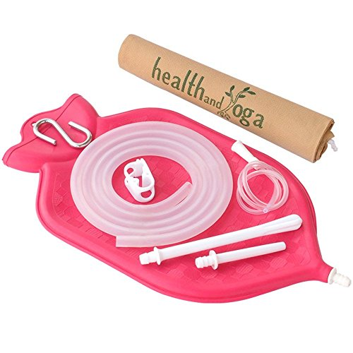 HealthAndYoga Enema Bag Kit Suspension