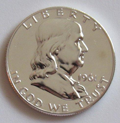 (1961 P Franklin Silver Half Dollar 50c)