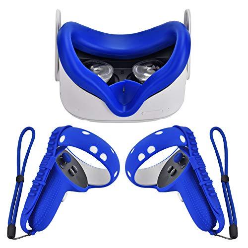 Cubierta XIAOGE Compatible Con Oculus Quest 2 - Azul