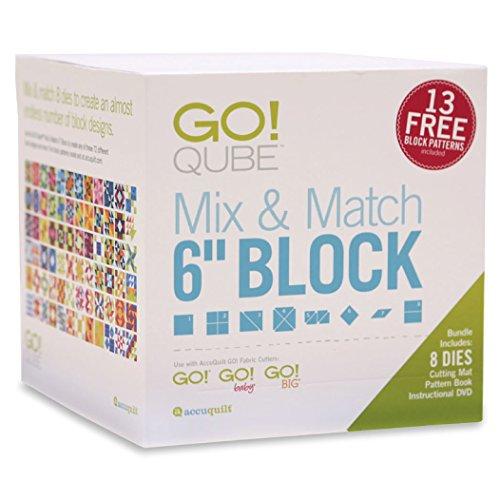 "AccuQuilt GO! Qube Mix & Match 6"" Block by Accuquilt Go!"