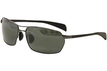 Maui Jim - Maliko Gulch - Gunmetal Frame-Polarized Grey Lenses