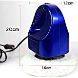 HJJH Track Wax/Portable Polishing Machine Professional High-Performance Variable Speed Polishing Machine For Household Car Beauty, Cleaning,Blue