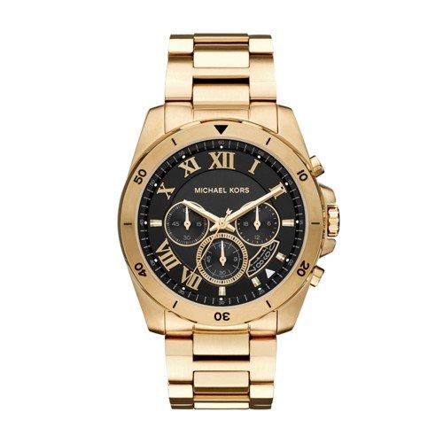 Michael Kors Men's Brecken Gold-Tone Watch MK8481