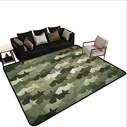 - Camo,Dining Table Rugs 60