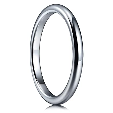 Titanium 925 Sterling Silver Inlay 8mm Brushed Wedding Ring Band Size 11.50 Easy And Simple To Handle Engagement & Wedding