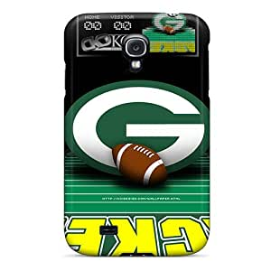 New Style Wadecases Green Bay Packers Premium Tpu Cover Case For Galaxy S4