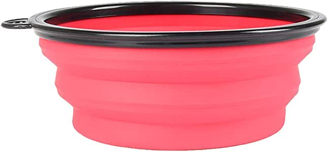 Dog Bowl Slow Down Eating Training Collapsible Portable